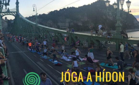 Jóga a hídon // Yoga on the Bridge IV.
