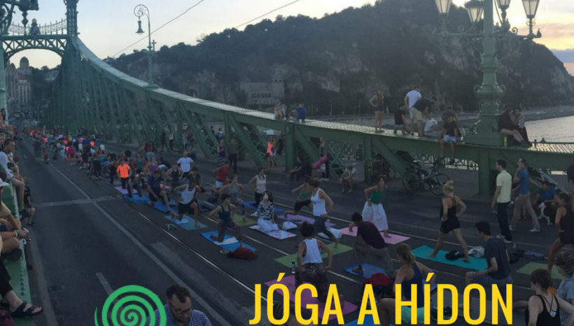Jóga a hídon // Yoga on the Bridge IV.